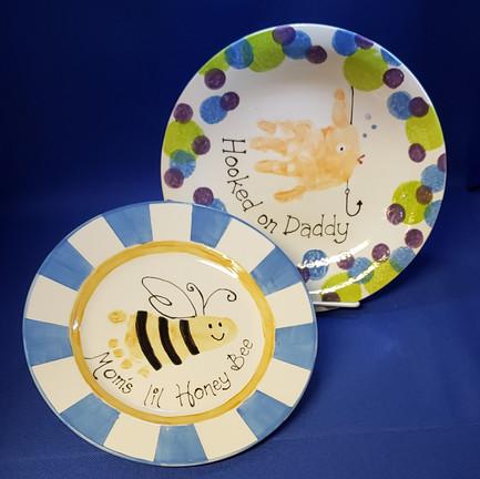 We do handprint plates too!