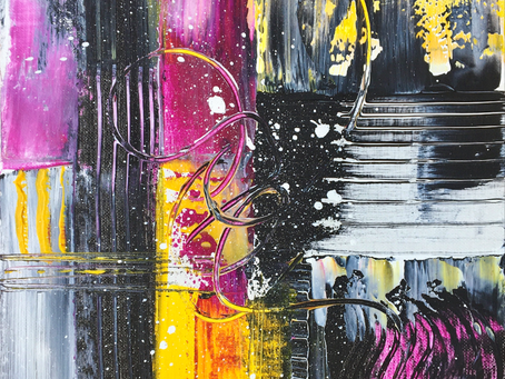 Have you Ever wanted to Paint an Abstract Painting?
