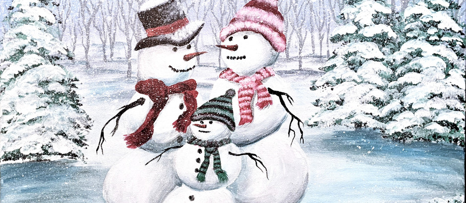 """Frank"" the Frosty Snowman!"