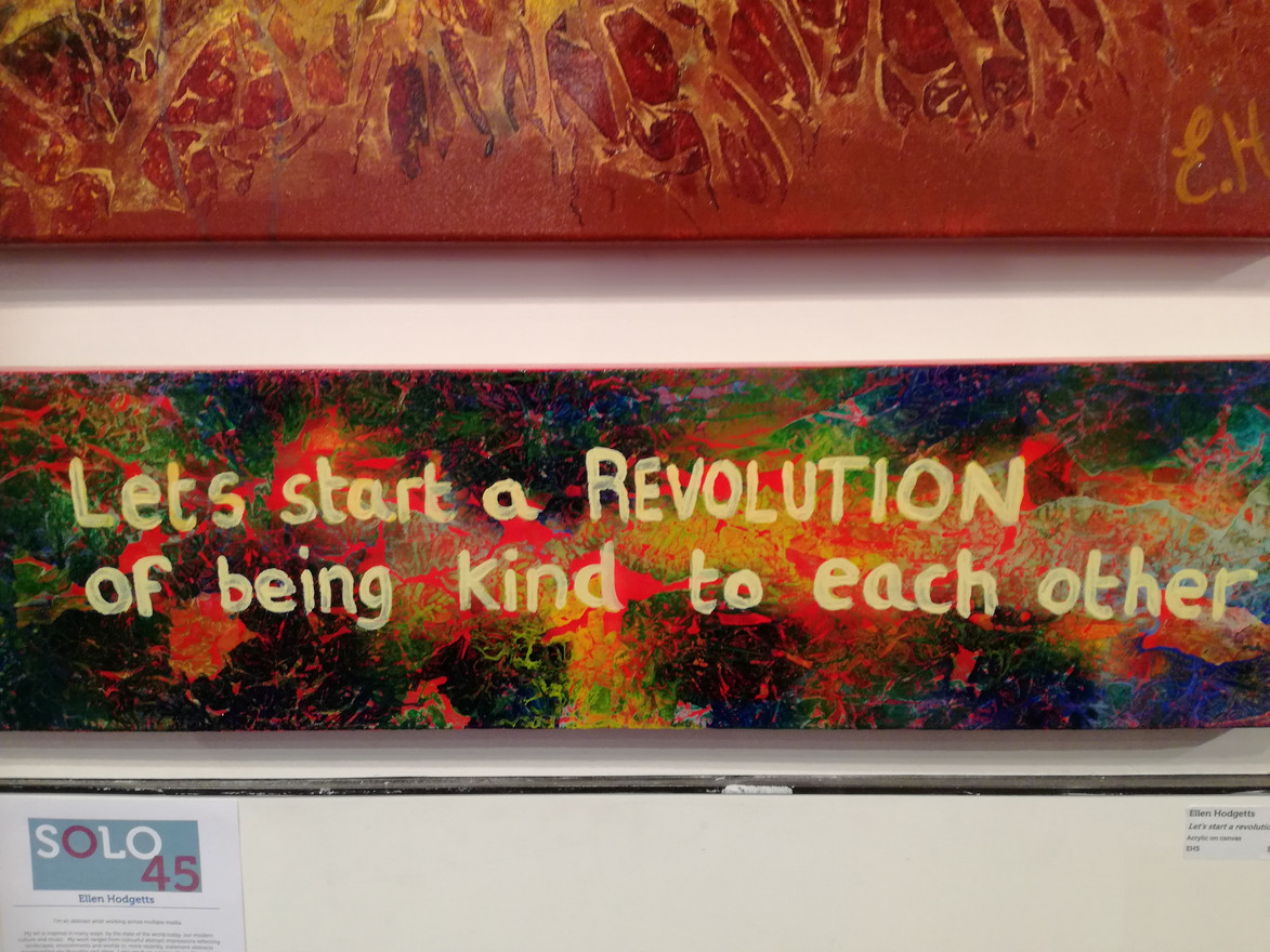 Let's start a revolution - $350 (SOLD)