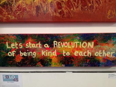 Let's start a revolution - $350 (SOLD)