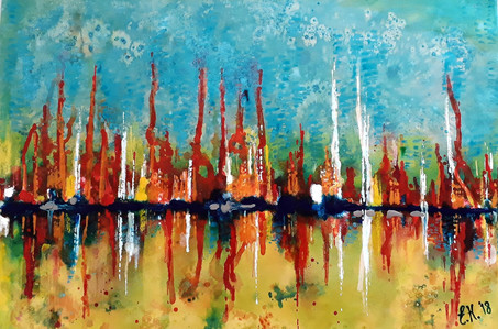 70 City Lights (private collection UK)