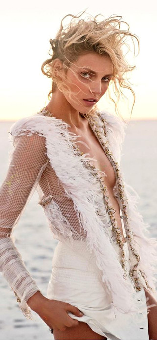 BOHEMIAN BRIDE IN CHANEL