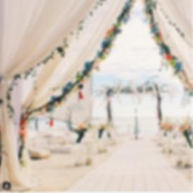 BOHEMIAN BEACH WEDDING ON BOHEMIANBRIDE.