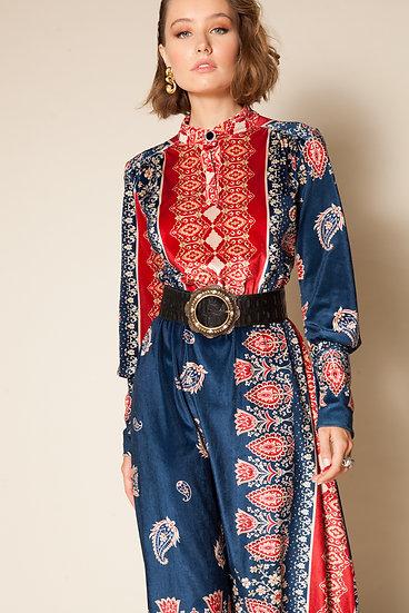 KORE PAISLEY DRESS