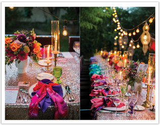 COLORFUL TABLETOPS