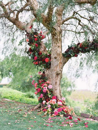FLORAL TREES AT YOUR GARDEN PARTY