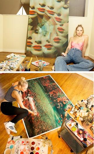 HIRE AN ARTIST