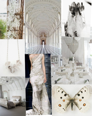 MOOD BOARD: THE ARTIST IN CRYSTALS