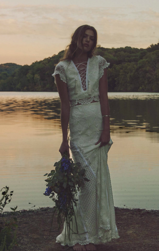 A WEDDING DRESS NAMED AFTER ROCK LEGEND JIM MORRISON