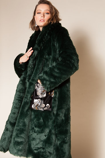MERCURY FAUX FUR COAT