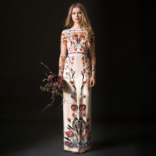 TEMPERLEY BRIDAL: BOHEMIAN SILHOUETTES WITH STUNNING  EMBELLISHMENTS