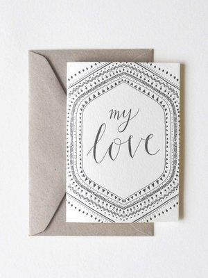 MY LOVE gift card