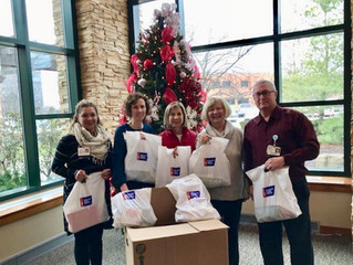 Chemo Kits Delivered to St. Vincent