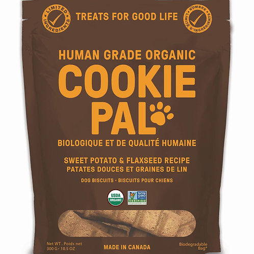 Cookie Pal - Sweet Potato & Flaxseed Dog Biscuits 300g