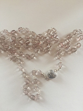 pink vintage czech glass and stering silver.jpg