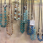 africa recyled glass beads w leather.jpg
