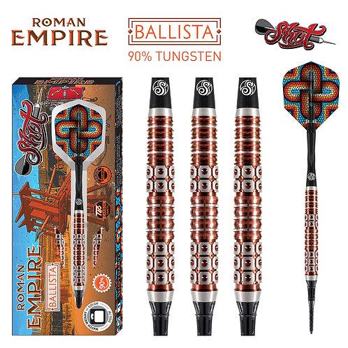 Roman Empire Ballista Soft Tip Dart Set-90% Tungsten