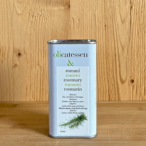 Bio-Olivenöl mit Rosmaringeschmack 250ml
