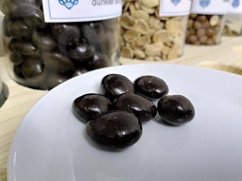 Marcona-Mandeln in dunkler Schokolade