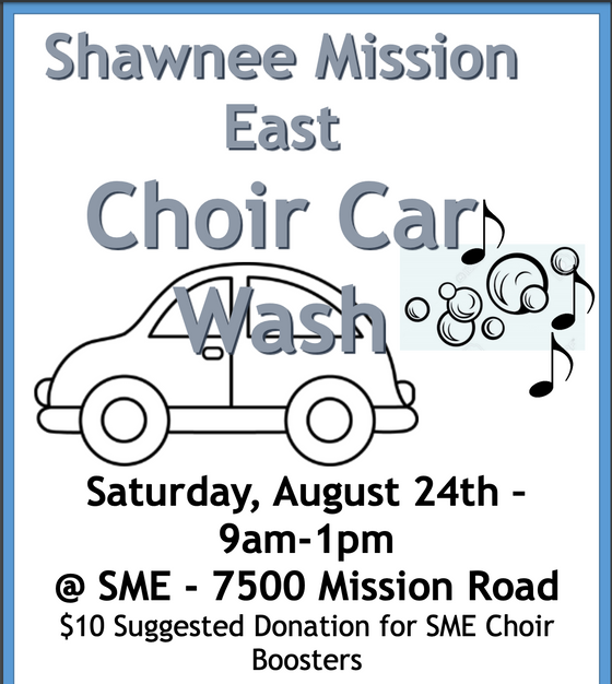 Choir Car Wash 8/24