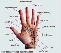 About Famous effective True Mamaprofroy's Palmistry Services. Mamaprofroy is one of the top real best Five experts in Spirituality Palmistry in Single & Dating, Luck, Fame, Parents & Children, Cheating & Affairs, Employee, Education solutions, Breaking Up & Divorce, marriage, Marital Life and also in Career Forecasts. You will be surprised by the details you get in my Hindu palm religion readings. The extraordinary details of predictions including name, place, soulmates. You can also get psychic Hindu palm readings about career and job. Ask me about money and finances too. Specialist in break up and reunion. Accurate predictions about marriage and divorce, Baby birth, and death.  When you schedule with your famous powerful palm reader Mamaprofroy with all related palm readings  Regardless With famous effective powerful Mamaprofroy, you will receive a detailed and highly accurate of real palm readings.+27612740438