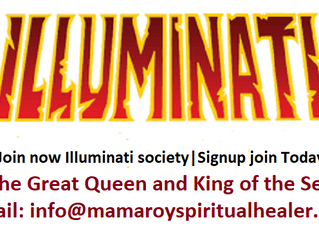 Join now Illuminati society | the Great king and Queen of the Sea