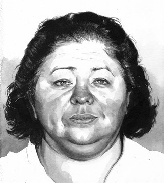 Ester Weaver, arrested after the Twin Peaks Diner shootout, Waco TX