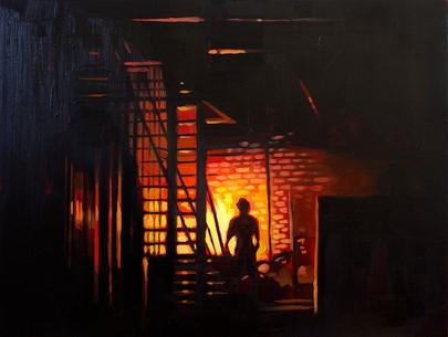 Fire Escape (Camp Alamo)