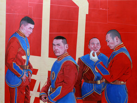 Twins: Mongolians