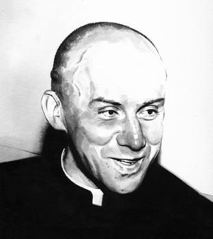 Thomas Merton, Trappist monk.