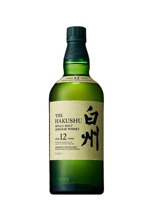 The Hakushu 12 Year Old Japanese Whisky 700ml