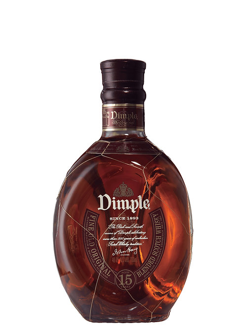 Dimple 15 Year Old Scotch Whisky 700ml