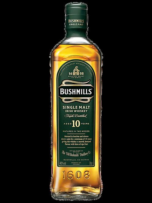 Bushmills 10 Year Old Irish Whiskey 700ml