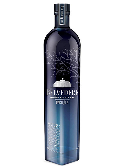 Belvedere Lake Bartezek Single Estate Rye Vodka 700ml