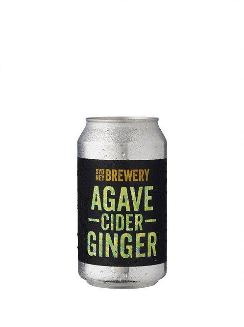 Sydney Brewery Agave Ginger Cider Cans