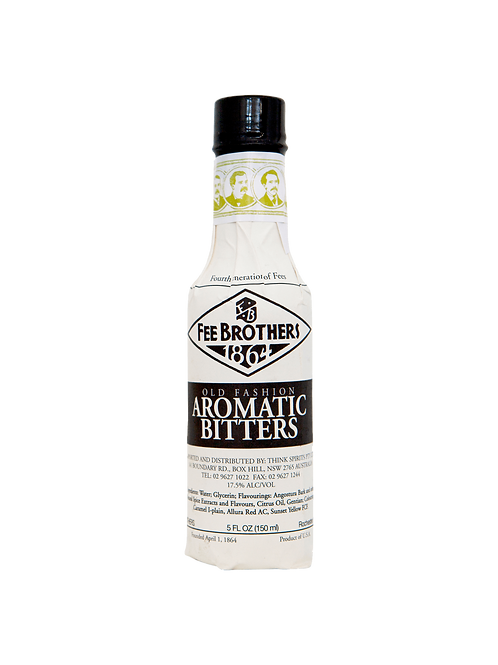 Fee Brothers Old Fashion Aromatic Bitters 150ml