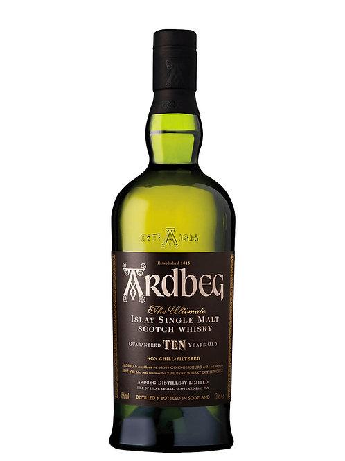 Ardbeg 10 Year Old Scotch Whisky 700ml