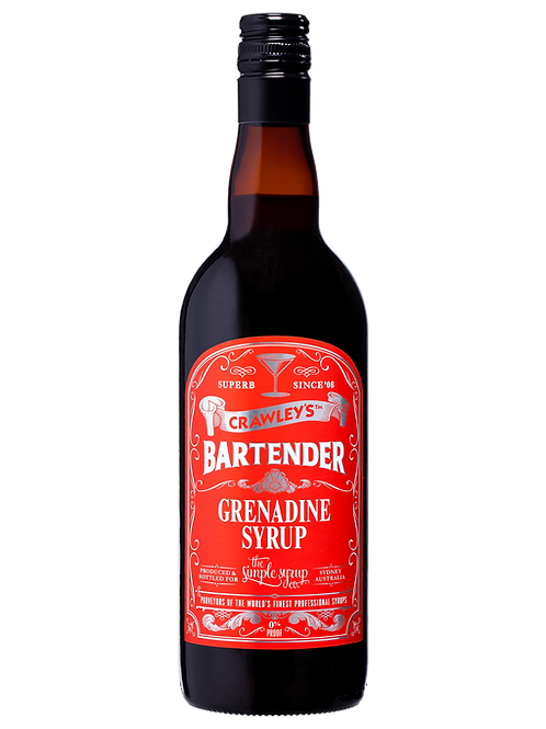Crawley's Grenadine Syrup 750ml