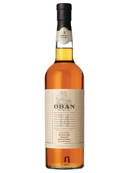 Oban 14 Year Old Scotch Whisky 700ml