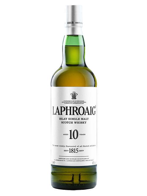Laphroaig 10 Year Old Single Malt Scotch Whisky 700ml
