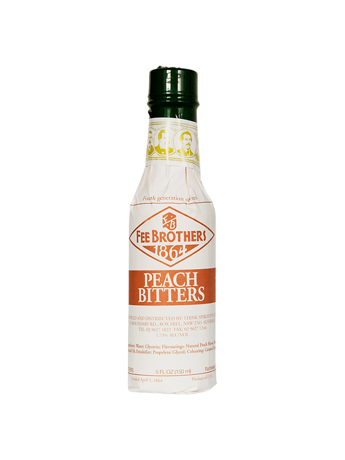 Fee Brothers Peach Bitters 150ml