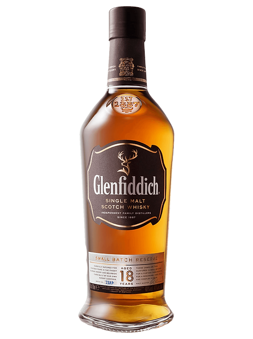 Glenfiddich 18 Year Old Scotch Whisky 700ml