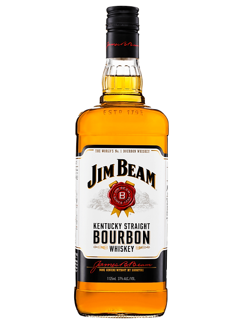 Jim Beam White Label Bourbon 1125ml