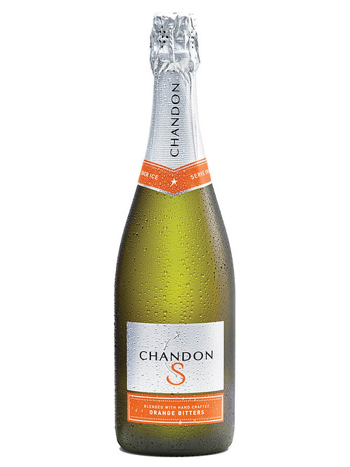 Chandon S Sparkling blended with Hand Crafted Orange Bitters