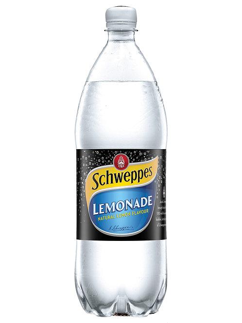 Schweppes Lemonade Bottles 1.25L