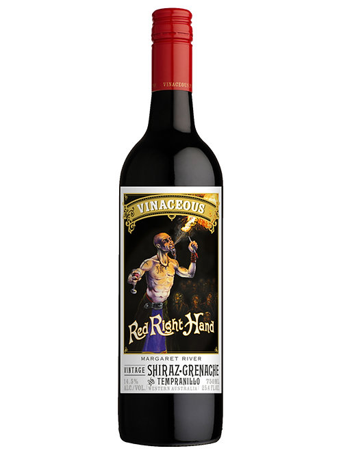 Vinaceous Right Hand Red Shiraz Grenache Tempranillo