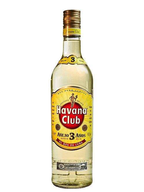Havana Club Añejo 3 Años Rum 700ml