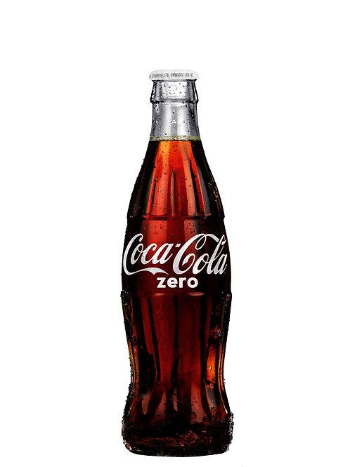 Coca Cola No Sugar Glass Bottles 330ml