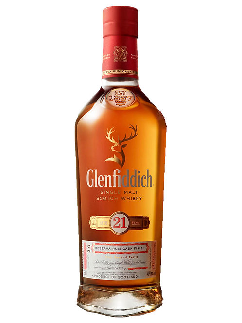 Glenfiddich 21 Year Old Gran Reserva Scotch Whisky 700ml